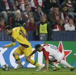 Babak Pertama, Messi Bawa Barcelona Ungguli Slavia Praha 1-0