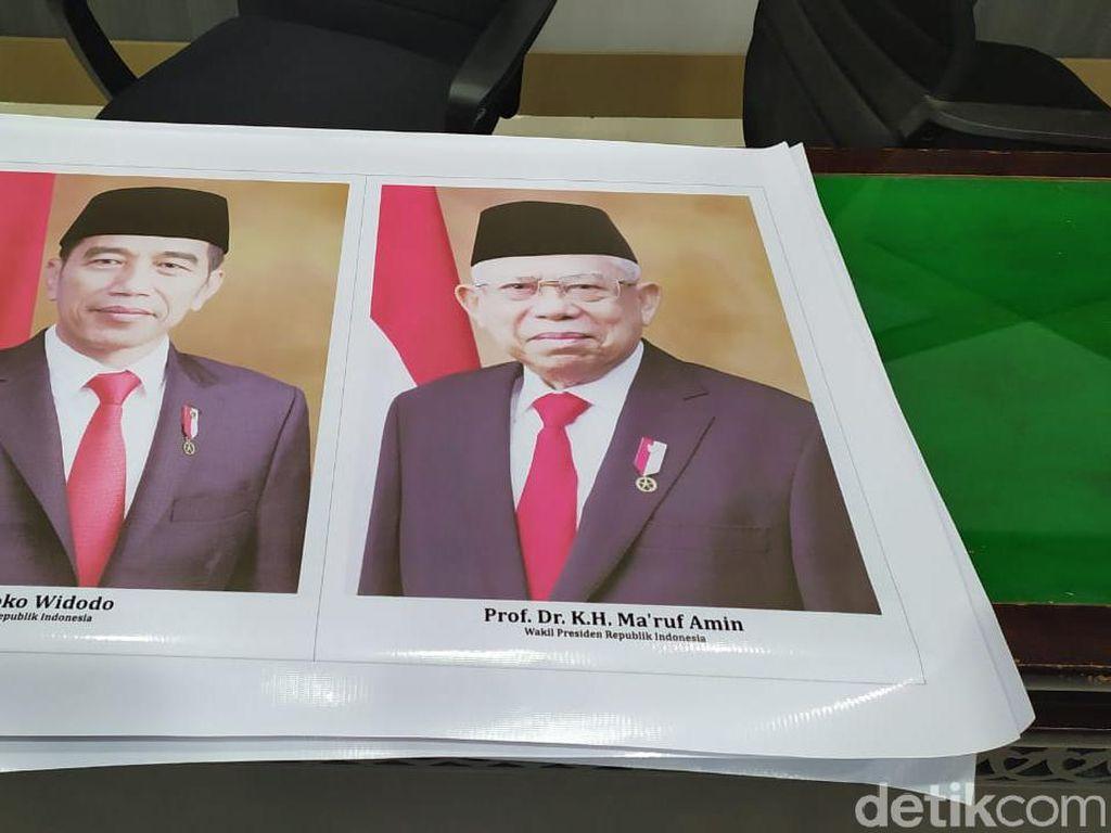 Sekretariat DPR Aceh Akan Cek Foto Presiden-Wapres Dicetak dari Bahan Spanduk