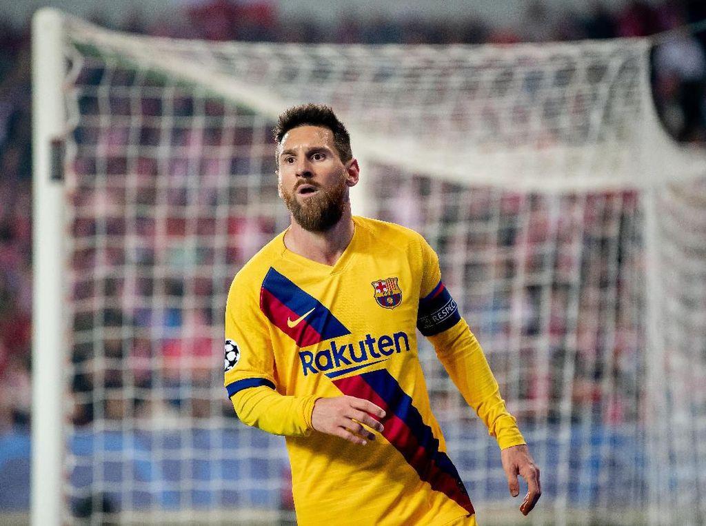 Messi Samai Catatan Raul dan Ronaldo