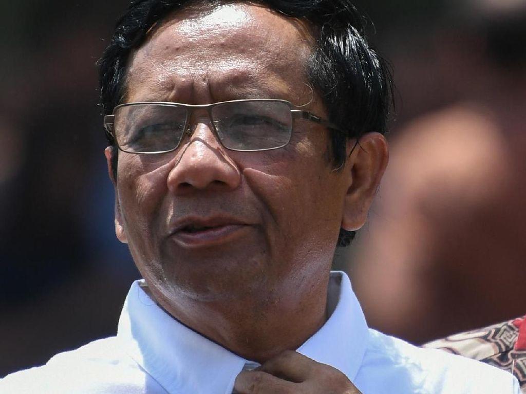 Mahfud Setuju Hukuman Mati, Sindir Pengadilan yang Vonis Ringan Koruptor
