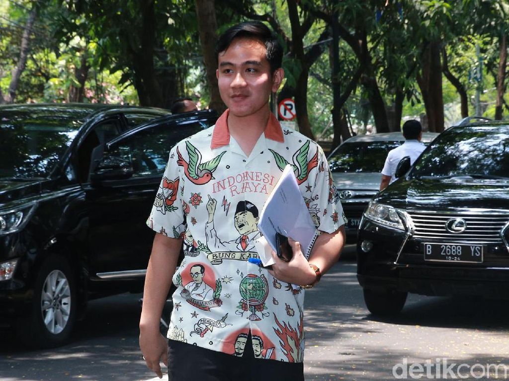 Sowan ke Megawati, Gibran Minta Restu Maju Pilwalkot Solo
