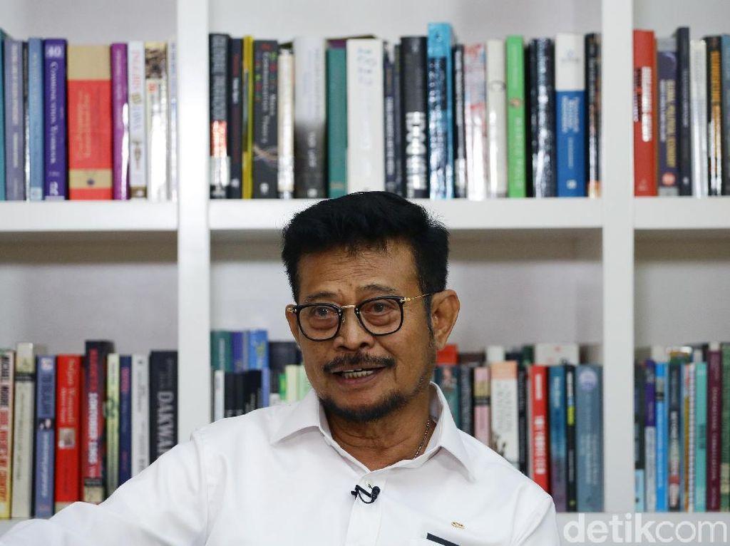 Syahrul Yasin Limpo Punya PR Benahi Data Pangan Agar Tak Gaduh