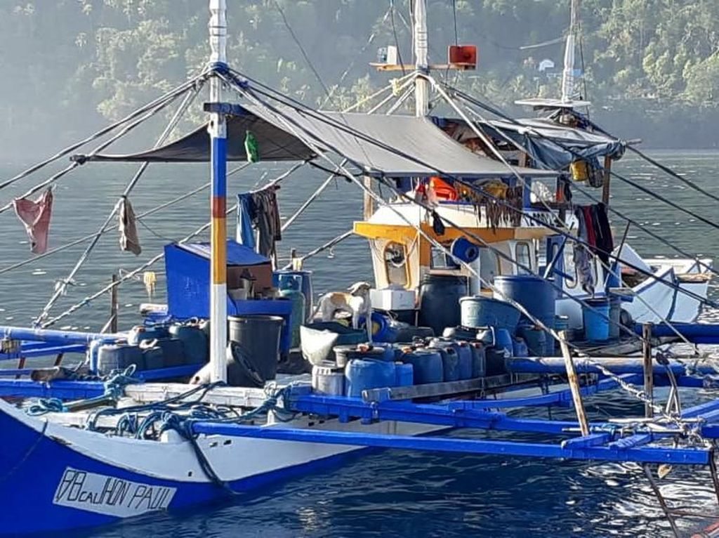 KKP Tangkap Lima Kapal Ikan Ilegal Asal Vietnam di Perairan Natuna