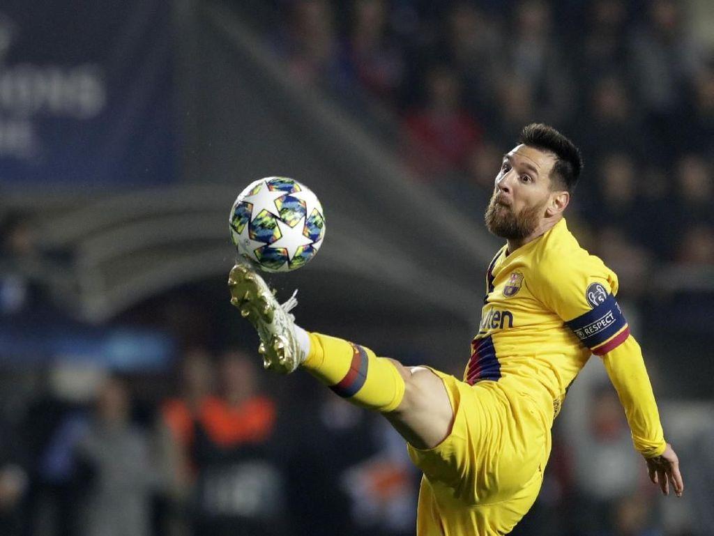 Dalam 15 Tahun Beruntun, Messi Selalu Cetak Gol di Liga Champions