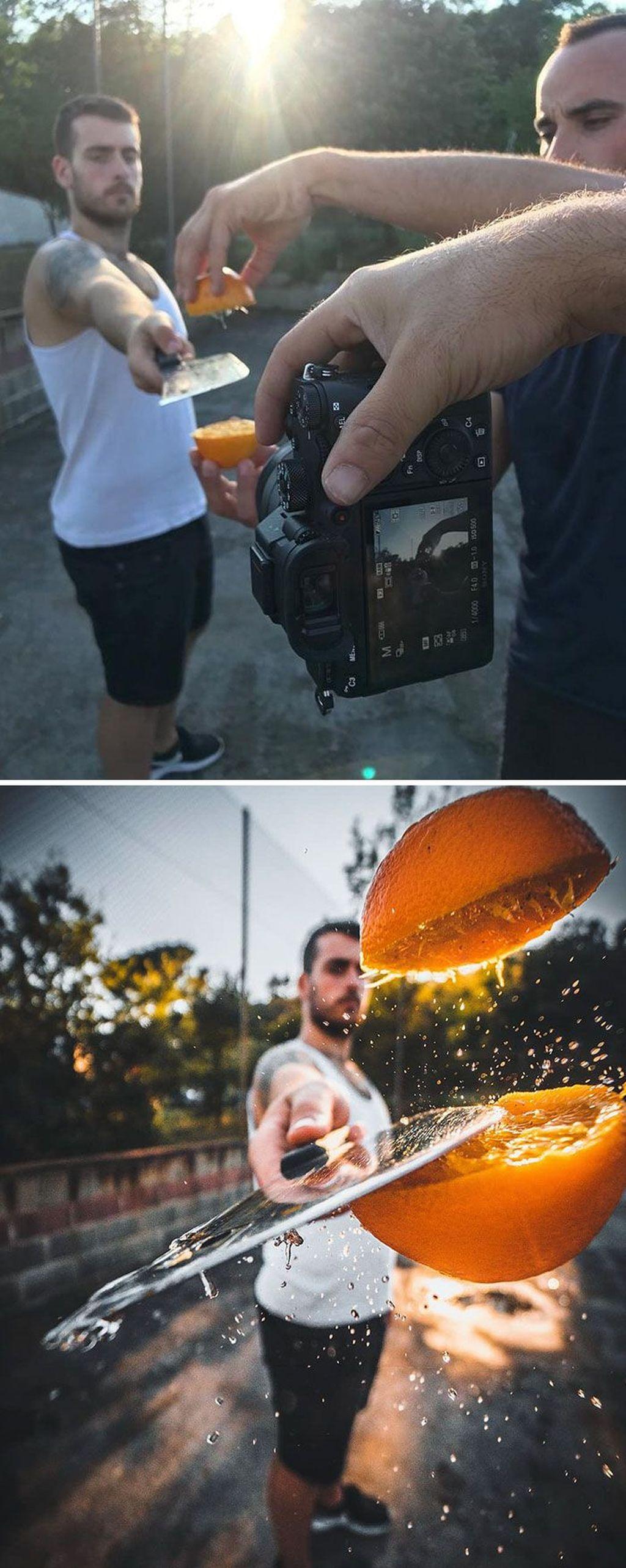 Membelah jeruk. Foto: instagram.com/jordi.koalitic