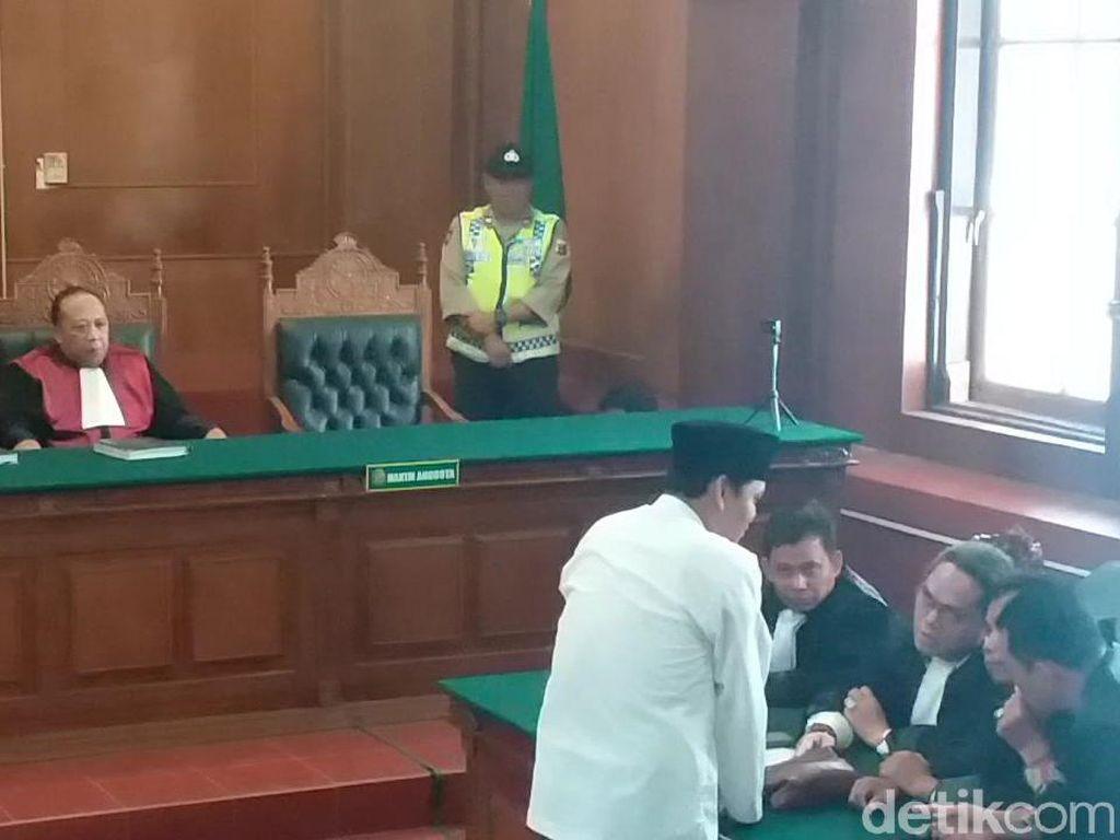 Divonis 1 Tahun 6 Bulan, Gus Nur Doakan Hakim, Jaksa, dan Pelapor