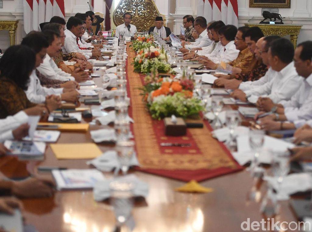 Jokowi Ungkap Kelemahan Kabinet Kerja, Demi Indonesia Maju