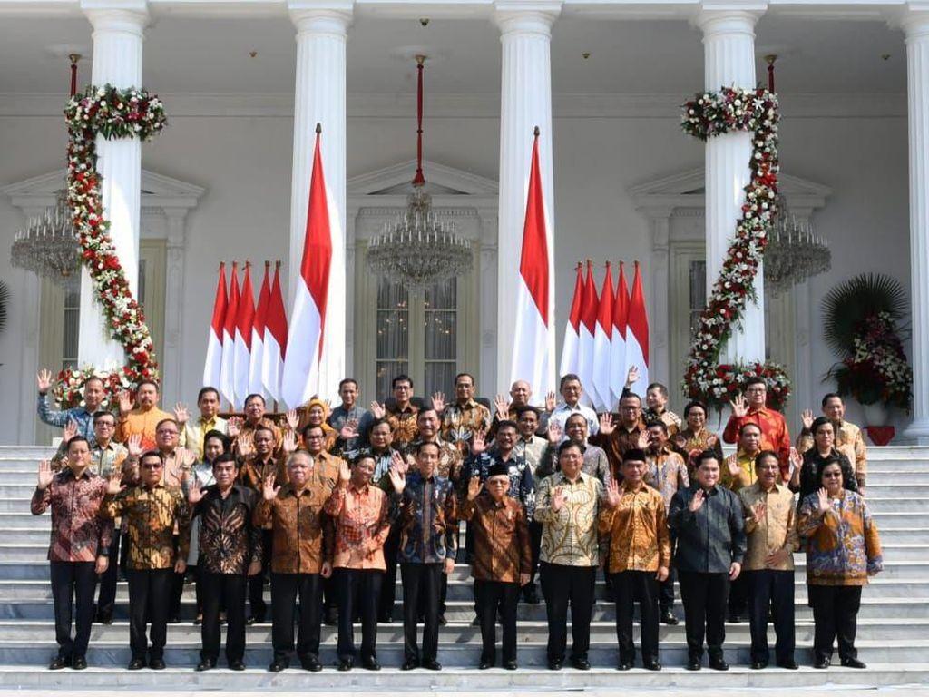 Susunan Kabinet Menteri Jokowi 2019 Sampai 2024