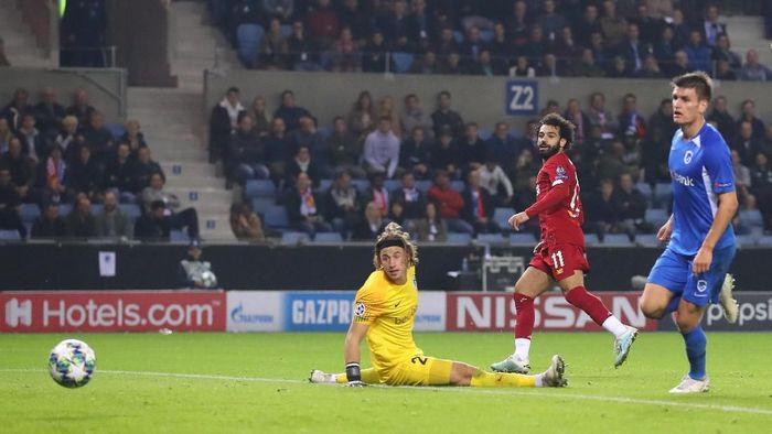 Liverpool menang 4-1 atas Genk. (Foto: Catherine Ivill/Getty Images)