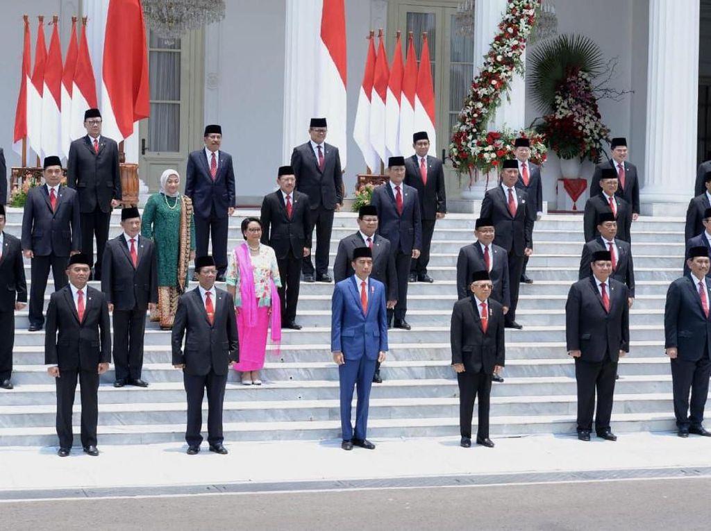 Perbedaan Penunjukan Menteri Jokowi Saat 2014 Vs 2019