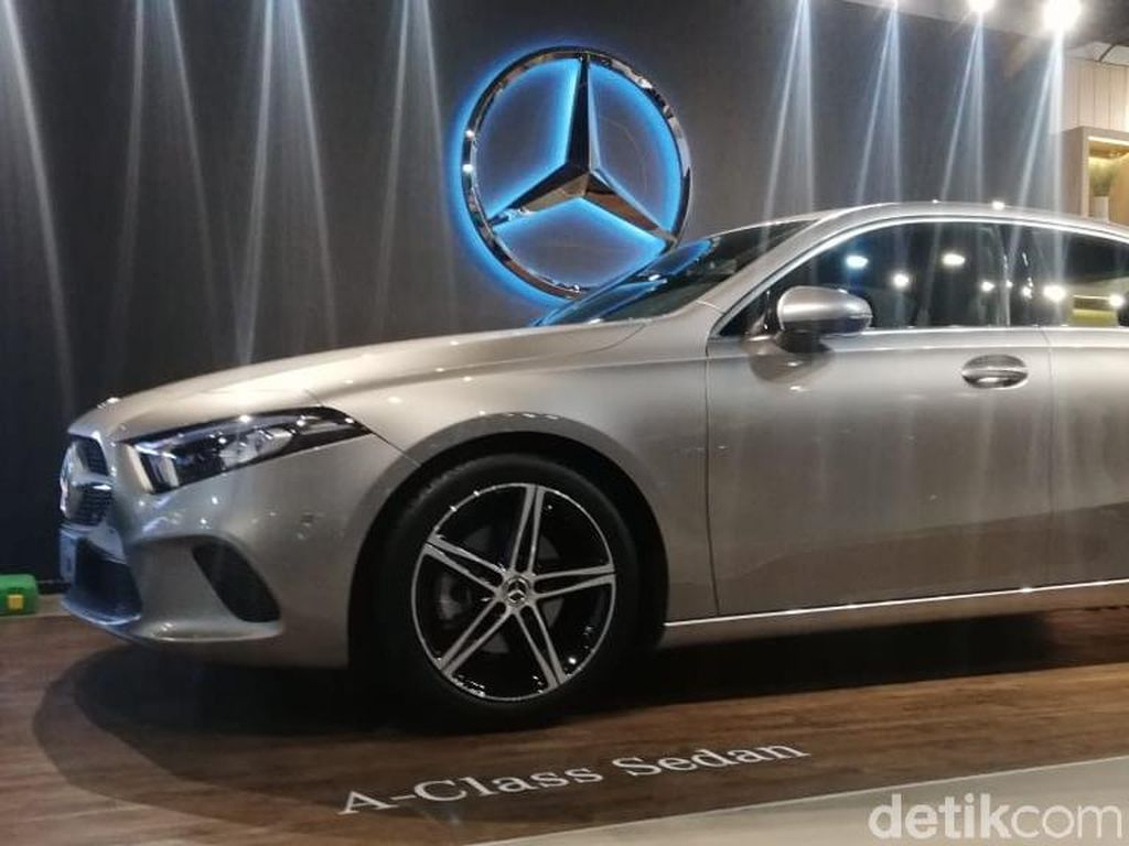 Akhirnya, Mercedes-Benz Sedan A-Class sapa Indonesia