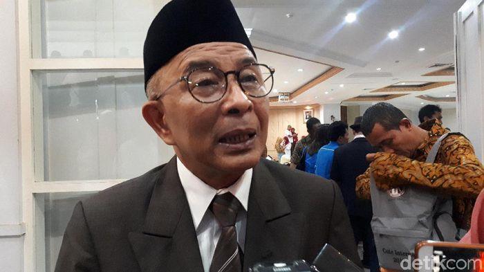 Refrizal, anggota komite eksekutif PSSI  (Mercy Raya/detikSport)