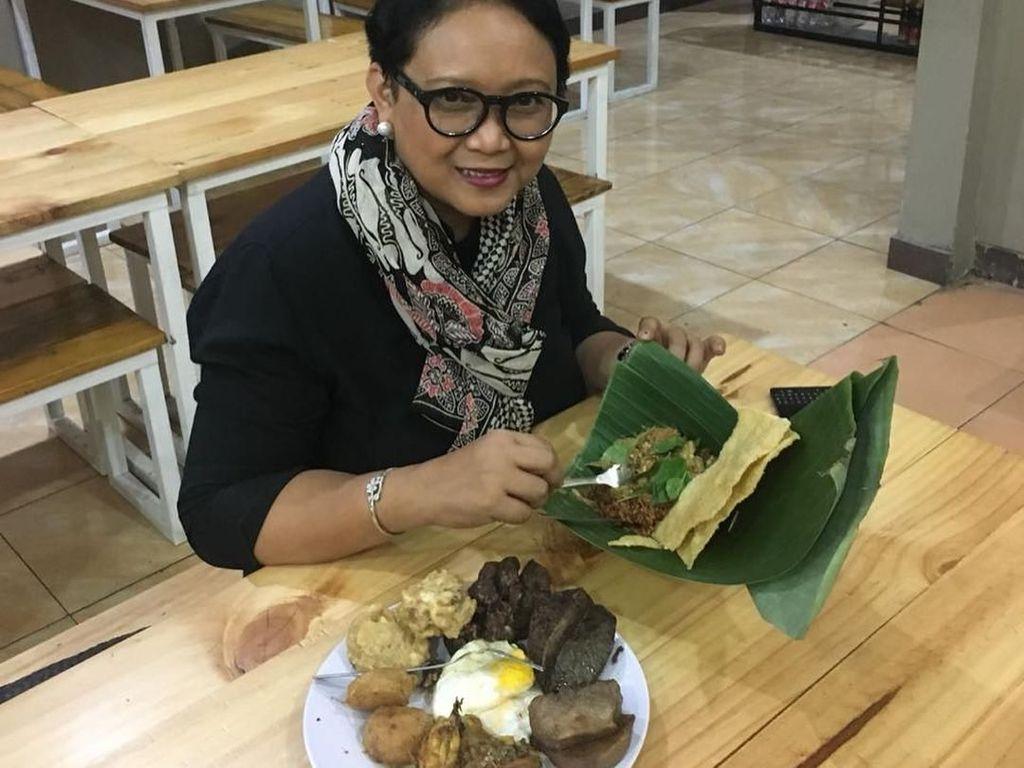 Lihat Lagi Diplomasi Kuliner Retno Marsudi, yang Lanjut Jadi Menlu
