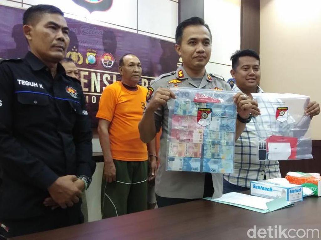 Tiga Pria Tertangkap Tangan Judi Pilkades Serentak di Mojokerto