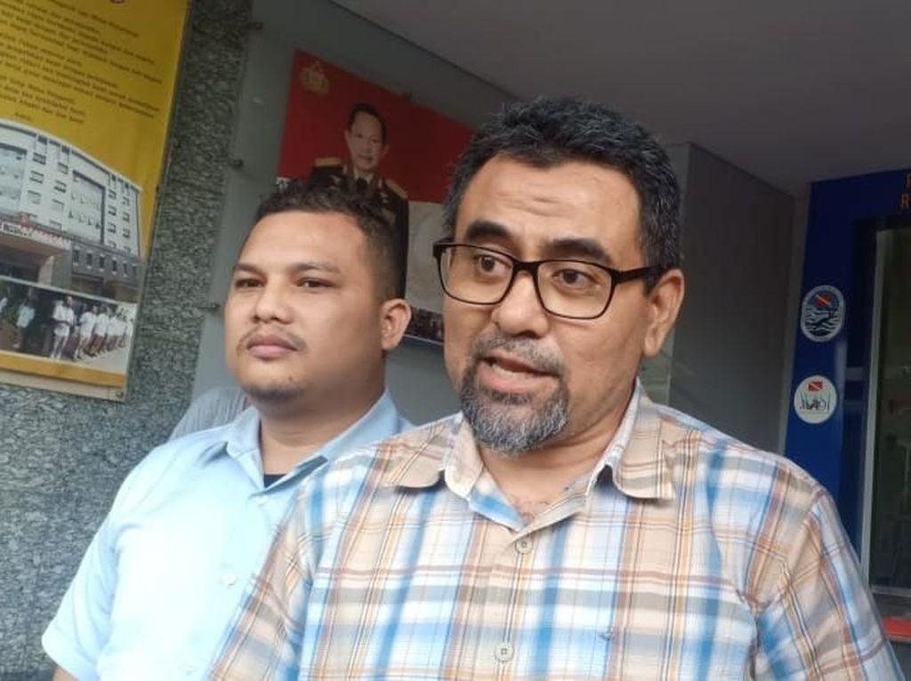 Diantar Pihak DKM Masjid, DPO Penganiaya Ninoy Serahkan Diri ke Polisi