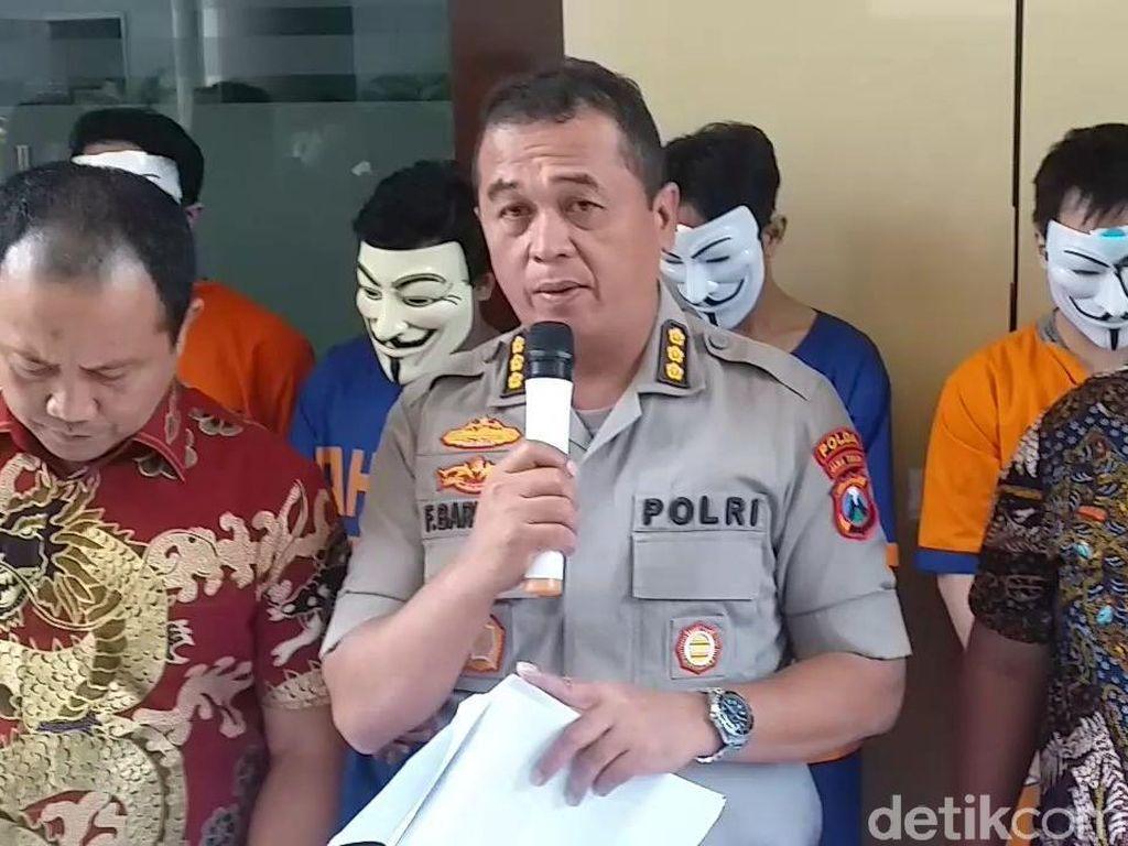 Komplotan Penipuan Order Fiktif Ojek Online Dibekuk