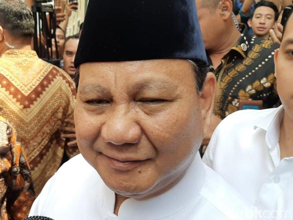 Jokowi Tunjuk Trenggono Jadi Wamenhan, Prabowo: Iya, Iya, Bagus, Bagus