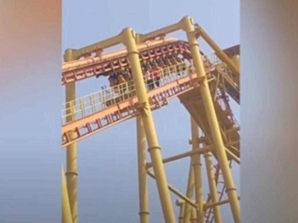 Mati Listrik, Roller Coaster di China Jungkir Balik