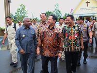 Tiba di Timika, Mendagri Tito Langsung Gelar Pertemuan Tertutup
