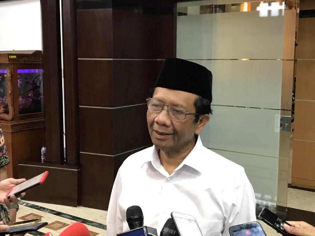 Bertemu Mendagri Tito, Mahfud Bahas Kondisi Papua
