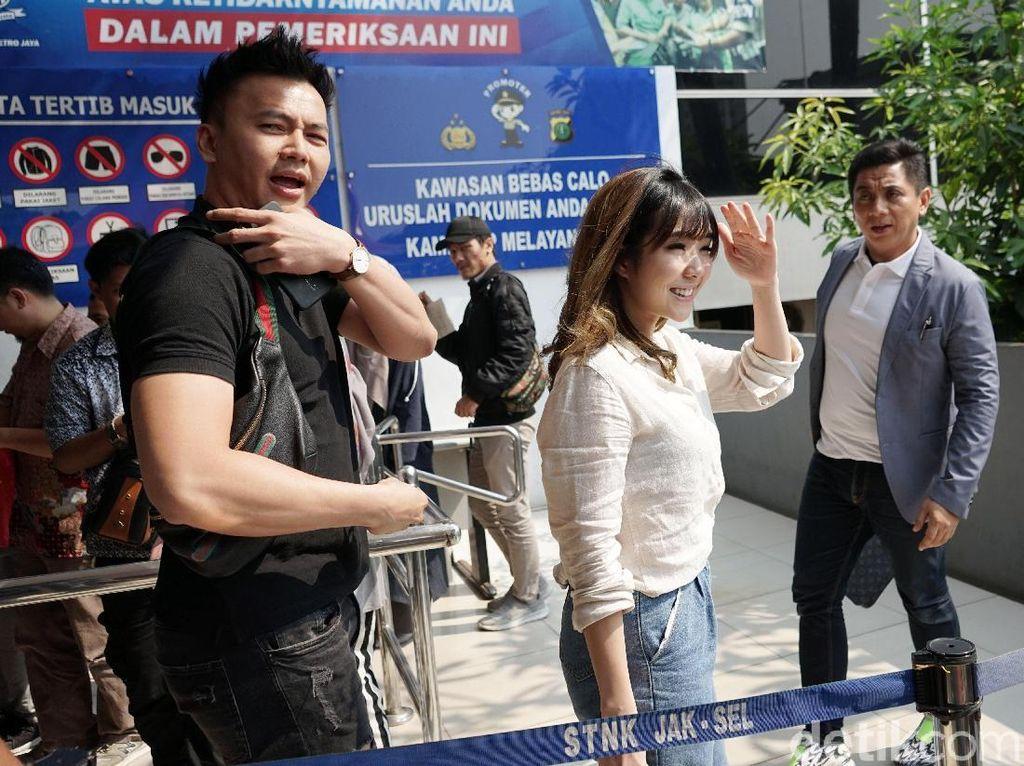 Lapor Polisi, Gisel Harap Pihak Pertama Penyebar Fitnah Video Syur Ditangkap