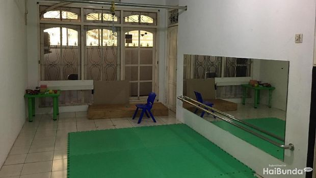 Ruang kelas di Nafa Islamic Daycare