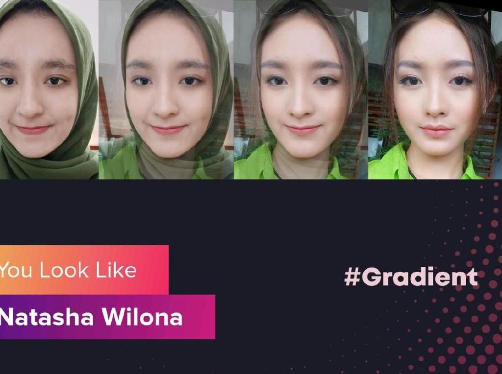 Aplikasi Gradient You Look Like Viral, Tapi Amankah?