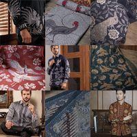 Hasil produksi kain Batik Obate dengan motif bermacam-macam mulai fauna hingga flora/
