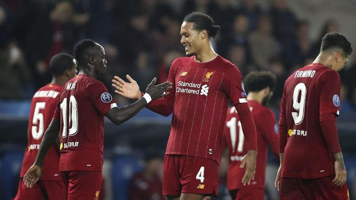 Liverpool akan mulai disokong Nike musim 2020/2021 (AP Photo/Francisco Seco)