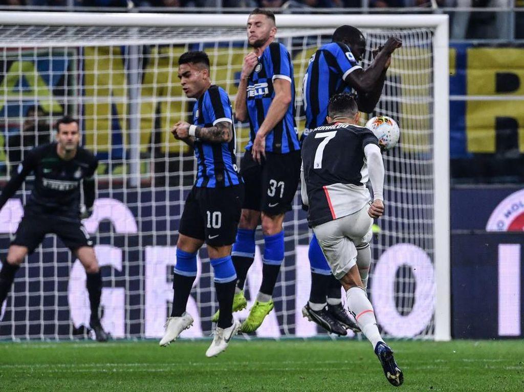 Inter Vs Juventus: Tugas Berat Si Ular Redam Cristiano Ronaldo