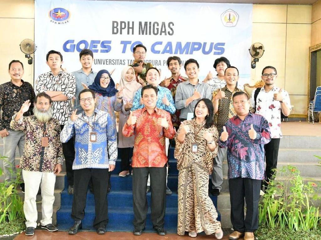 BPH Migas Sosialisasi Pentingnya Hilir Migas RI ke Mahasiswa