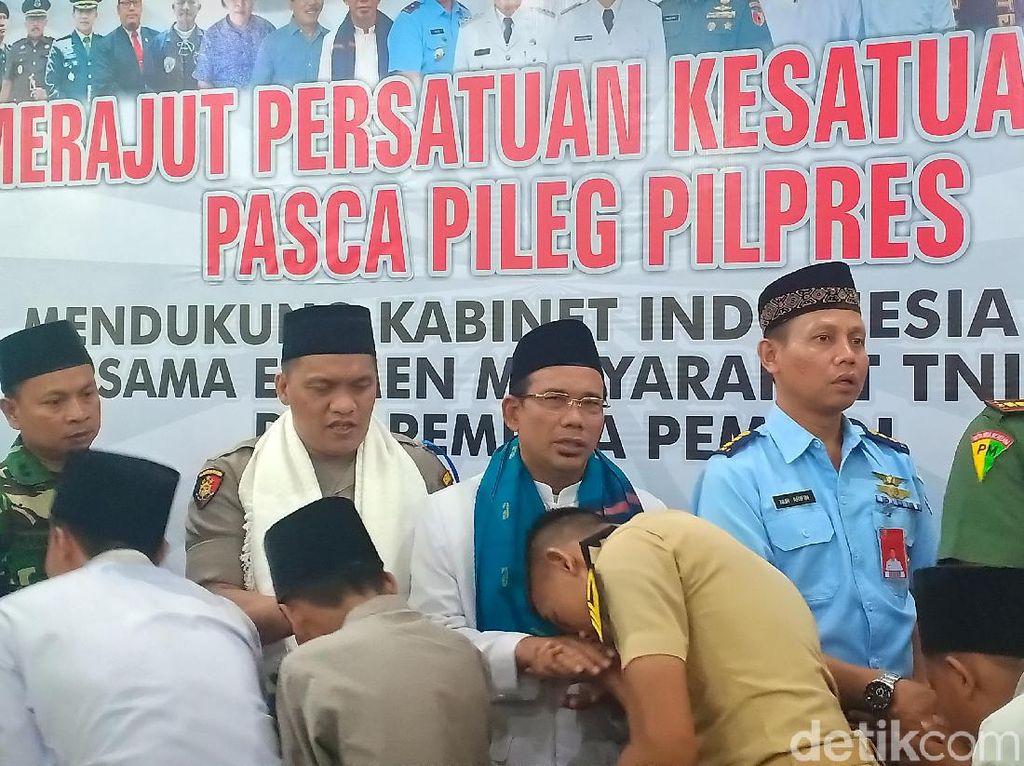 Pilpres Aman, Warga Kota Madiun bersama TNI Polri Gelar Istigasah