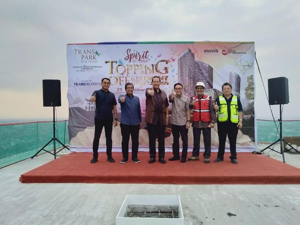 Topping Off Transpark Bintaro, CT: Semoga Hasilnya Memuaskan