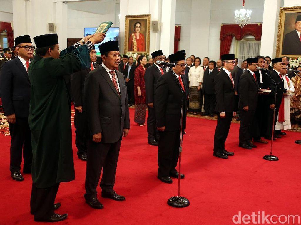 Jokowi Punya 12 Wamen, Istana: Tak Ada Penambahan