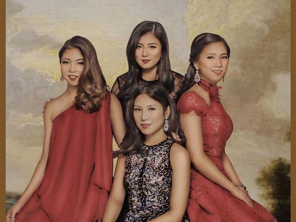 The Sisters! Ini Kebersamaan Angela Tanoesoedibjo dan 3 Adiknya yang Cantik