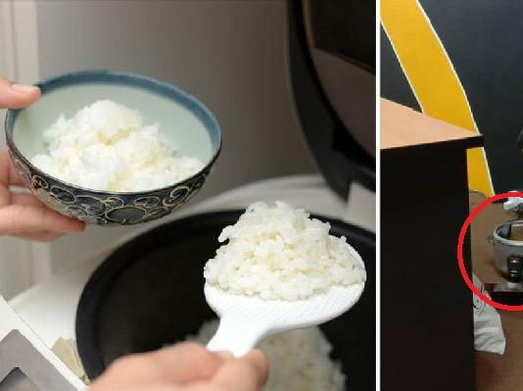 Bikin Haru! Pria Ini Masak Nasi Setiap Hari di Kantor Demi Alasan Ini