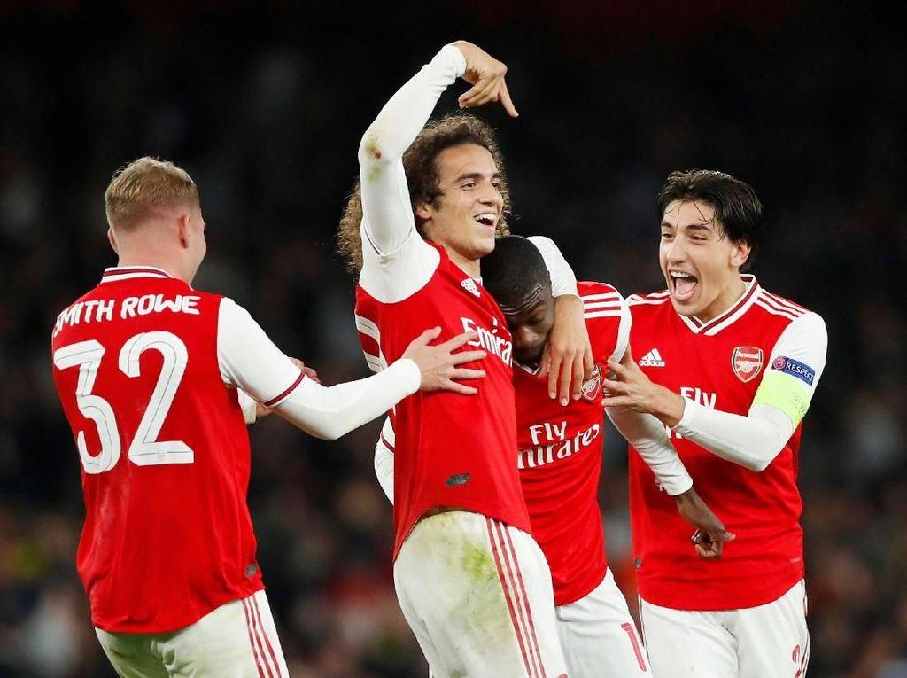 Comeback Dramatis atas Vitoria Dongkrak Kepercayaan Diri Arsenal