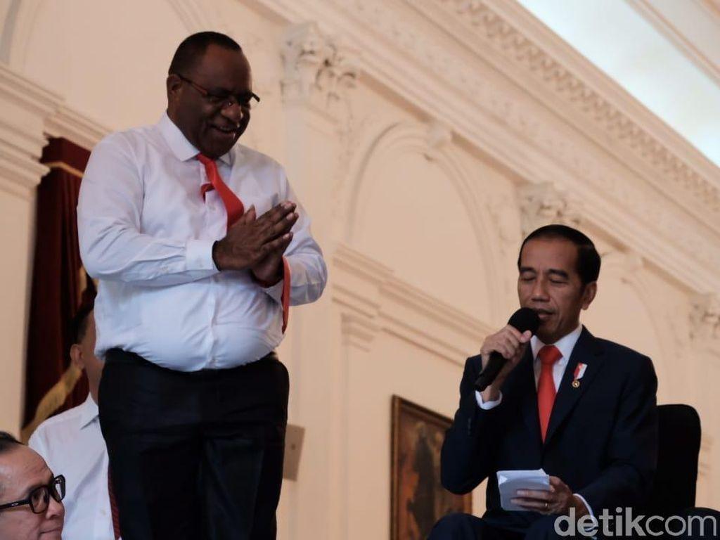 Putra Papua Jadi Wamen PUPR, Ada Pesan Khusus dari Jokowi
