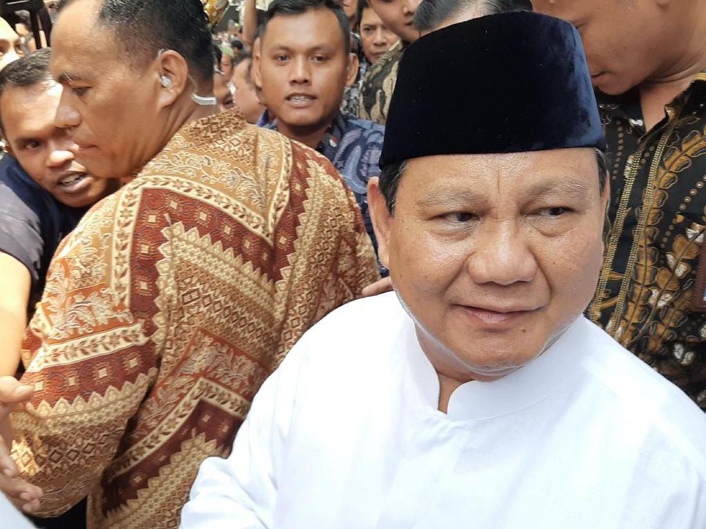 Video Komentar Prabowo soal Eks Anggota TKN Jadi Wamenhan