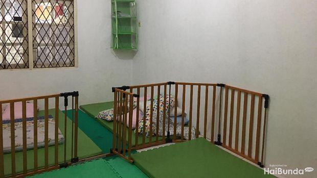 Ruang tidur di Nafa Islamic Daycare