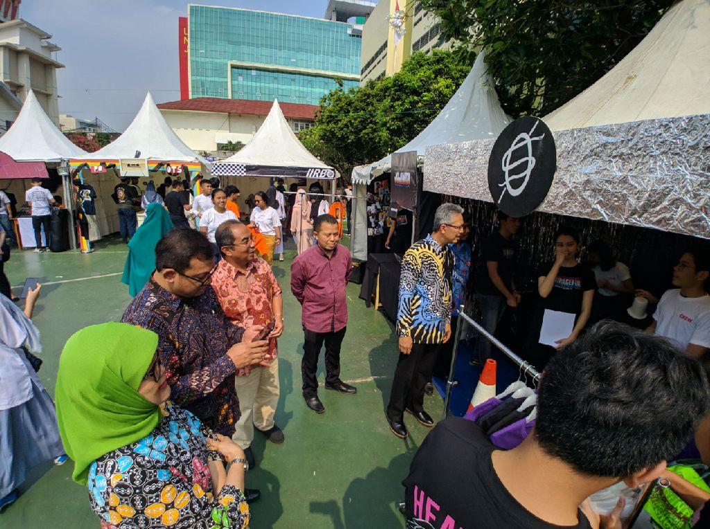 Market Day Eldest, Cara Labschool Jakarta Kembangkan Minat Wirausaha Siswa