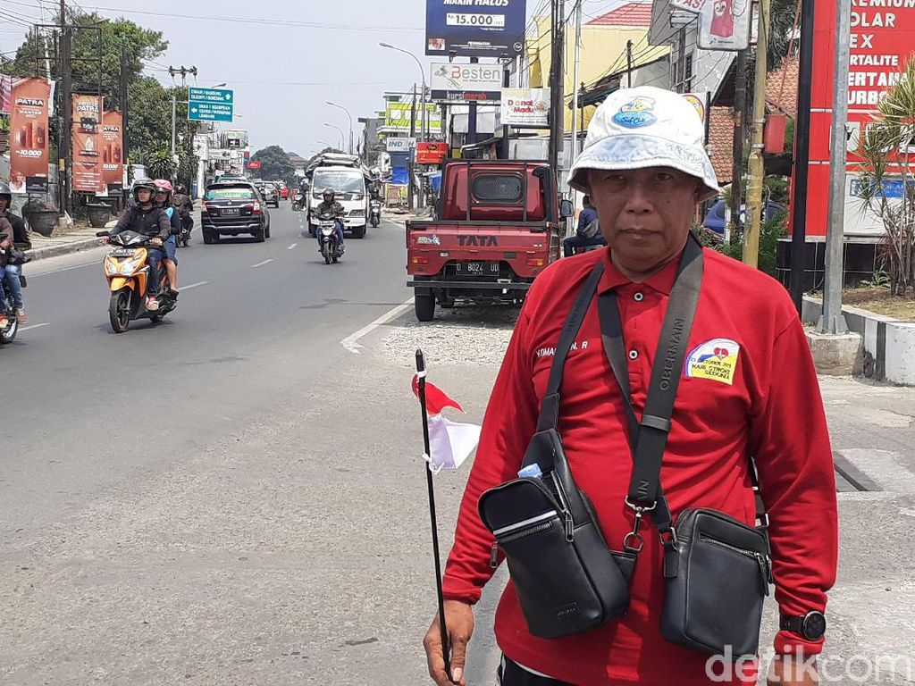 Sebarkan Optimisme Sembuh dari Stroke Ala Komaruddin