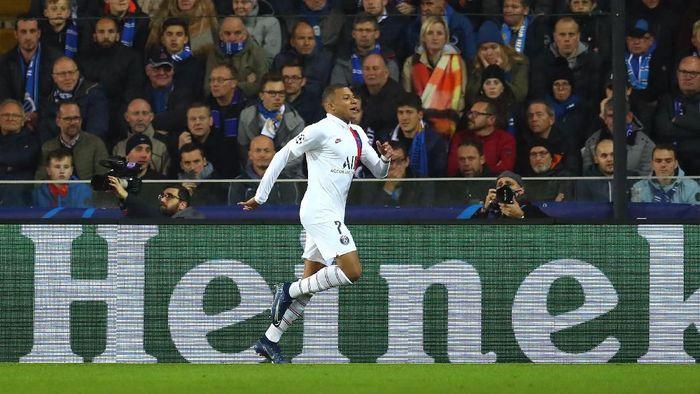 Striker Paris Saint-Germain Kylian Mbappe. (Foto: Catherine Ivill/Getty Images)