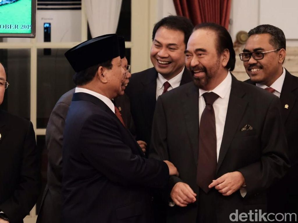 NasDem Bantah Kunjungan ke PKS karena Tak Happy dengan Kabinet Jokowi