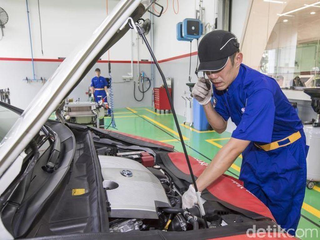 Di Bengkel Toyota, Servis Mobil Grab Jadi Lebih Cepat, Cukup 30 Menit