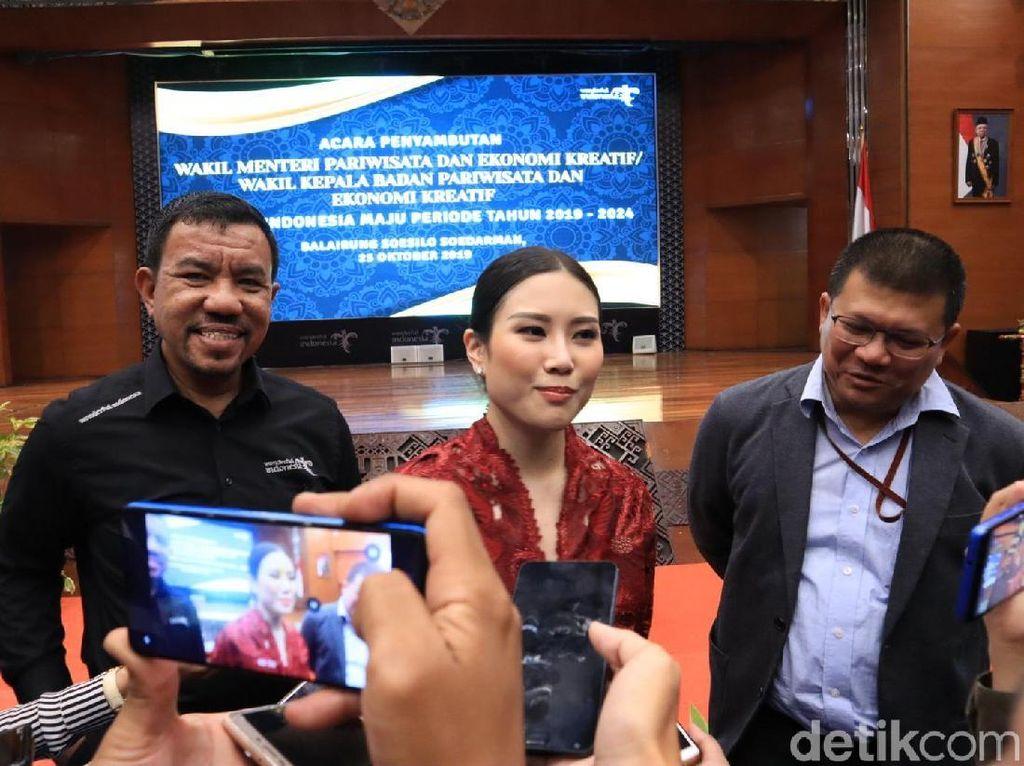Tanggapan Wakil Menteri Angela Tanoe tentang Ekonomi Kreatif