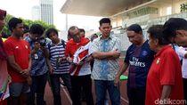PASI Keluhkan Stadion Madya untuk Acara Komersil ke Menpora Amali