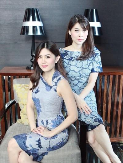 Ki-ka: Founder Owner Batik Obate Widya Gunawan dan Wike Gunawan/Foto: Dok. Batik Obate