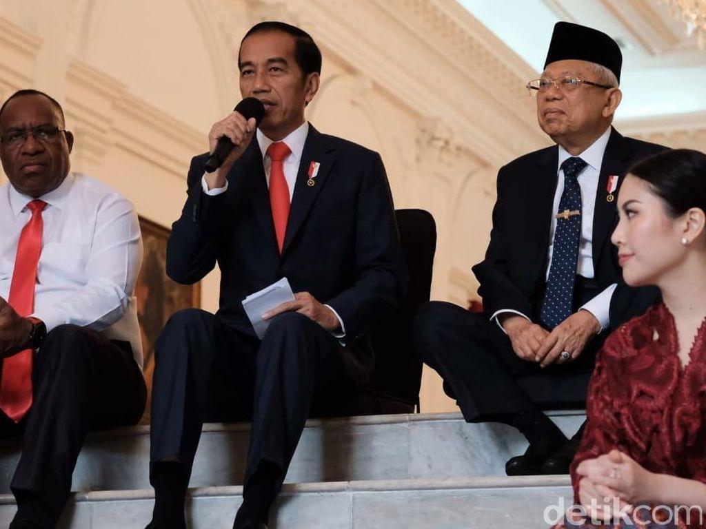 Posisi Wamen Digugat ke MK, Jokowi Bicara Beban Berat Kementerian