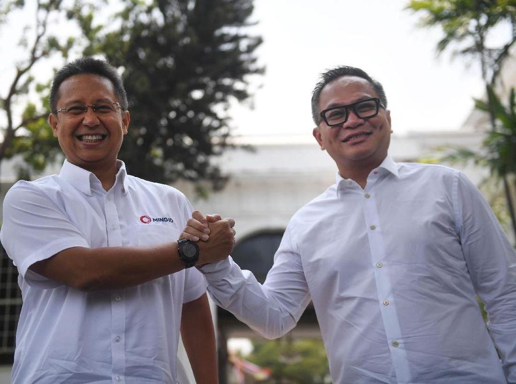 Erick Thohir Siapkan 3 Kandidat Pengganti Tiko dan BGS di  BUMN
